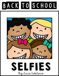 I have to go to school...but first, let me take a selfie! Take a look at this freebie that your students are sure to love!