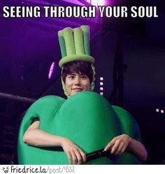 Kyuhyun. #Super Junior - this made me laugh WAY more than it should