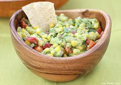 Guacamole With Corn