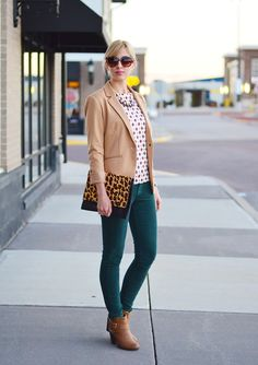 CAMEL BLAZER LOVE: TONED UP STYLE.   I'm all about the blazer.