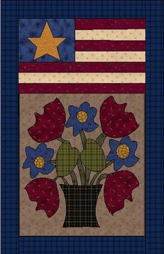 Free Patterns--18X27 --wall hanging