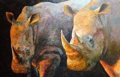 Rhynos, 120x180 cm, oil on canvas