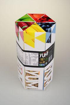 YUM! Fruit & Granola Crunch on Behance
