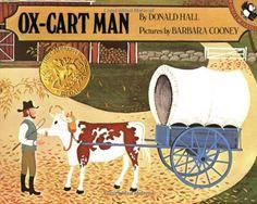 Ox-Cart Man, 1980 Caldecott Medal Caldecott Medal Winner winner, Barbara Cooney #childrensbooks #GoodReads #Books