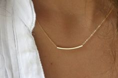 The Original Golden Bar Very Elegant and Delicate by Simag on Etsy