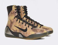 #Nike Kobe IX High QS Snakeskin #sneakers