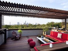 Austin house rental - Amazing Rooftop Patio with Spectacular Views