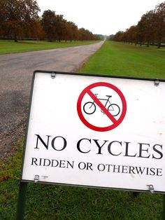No Cycles Ridden or Otherwise