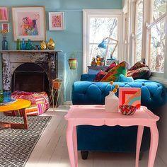 Paula Mills living room via Flickr