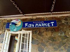 Kilauea Fish Market sign Kilauea Fish Market  Add to trip 4270 Kilauea Lighthouse Rd, Kilauea, Kauai, HI