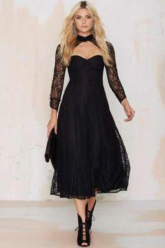 Line & Dot Amelie Lace Dress - Clothes