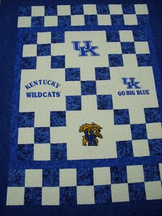 University Of Kentucky | University of Kentucky Quilt Kit [ukykit] - $159.00 : Zen Cart!, The ...