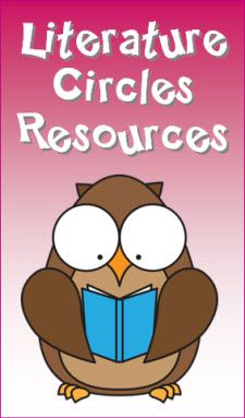 Literature Circles Resources page in Laura Candler's online file cabinet at Teaching Resources