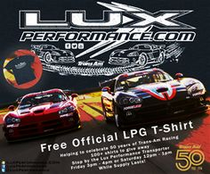 Lux Performance Group is looking for a brake, but you can just swing by and get a t-shirt.
