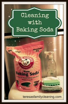 How to use baking soda to clean