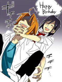 XD Miyamura bullying Shindou (he must have said something annoying)