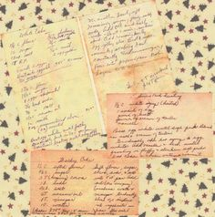 Preserve Your Family History with Recipes