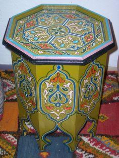 Moroccan wood table Free Shiping byTreasures of moroco | eBay