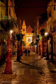 An Evening In Cadiz, Spain