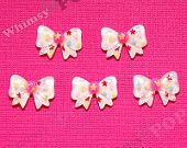 5 - Kawaii Stars and Glitter Bow Resin Decoden Cabochons