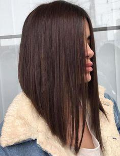 Haircuts Straight Hair, Angled Bob Hairstyles, Long Bob Haircuts, Braided Hairstyles, Hairstyles Haircuts, Medium Hair Cuts, Short Hair Cuts, Medium Hair Styles, Short Hair Styles