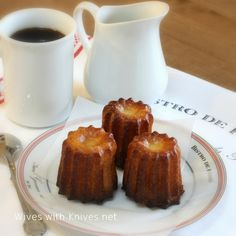 Caneles de Bordeaux - a wonderful French pastry you can make in your own kitchen