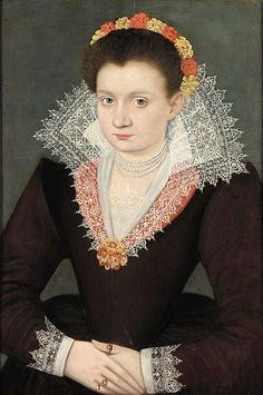 File:Netherlandish School Portrait of a Young Lady Wearing a Garland.jpg