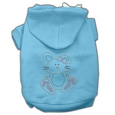 Bunny Rhinestone Hoodie