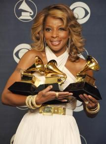 10 Reasons Why Mary J. Blige Is the Queen of Hip-Hop Soul: February 11, 2007 - Three Grammy Awards