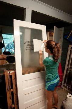 """Excellent """"laundry room storage diy cabinets"""" info is readily available on our website. Read more and you wont be sorry you did. Laundry Room Doors, Laundry Room Remodel, Basement Laundry, Farmhouse Laundry Room, Laundry Room Organization, Laundry Room Design, Closet Doors, Laundry Closet, Laundry Drying"""