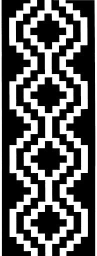 27 Ideas for knitting loom poncho libraries Tribal Patterns, Loom Patterns, Beading Patterns, Cross Stitch Patterns, Inkle Weaving, Inkle Loom, Knitting Quotes, Patterned Chair, Beaded Cross Stitch