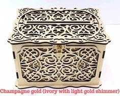 WEDDING CARD BOX Lockable, Wedding Money Box With Lock, Wedding Card Holder, Wedding Gift Card Box,