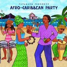 [Story] Africa meets the Caribbean on this festive musical celebration! Features a Caribbean rum punch recipe. Afro-Caribbean Party is a collection that celebrates the incredible power of the African- Afro, Cd Cover, Album Covers, Caribbean Rum Punch Recipe, Mocha, Latin American Studies, Trip To Colombia, Caribbean Party, Biographies