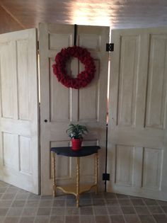 Reclaimed Old Doors Hinged Room Divider by WhiteDaisyLane on Etsy