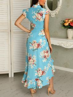 154 summer dresses every girl should have – page 29 Floral Dress Outfits, Floral Maxi Dress, Boho Dress, Fashion Dresses, Maxi Dresses, Summer Outfits Women, Summer Dresses, Trend Fashion, Dress Clothes For Women