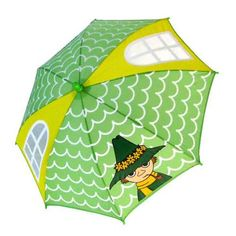 Kids umbrella Moomin Snufkin House MMUM434 (japan import)