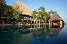 Tropische Villa Pavillon-Infinity Pool