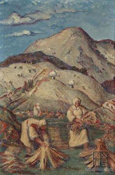 Martin Benka, Zemánky - Liptovská Revúca 1937