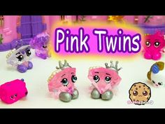 DIY Pink Diamond Twins GEMMA STONE Shopkins Inspired Custom Do It Yourself Craft Video - YouTube