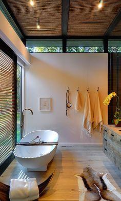 Rustic modern. #bathroom #bathroomdesign #bathroomremodel