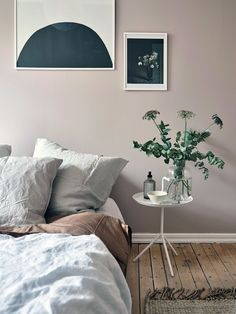 Blush pink bedroom ideas dusty rose bedroom decor and bedding i love 00043 Warm Home Decor, Pink Home Decor, Rooms Home Decor, Luxury Home Decor, Bedroom Wall Colors, Paint Colors For Living Room, Bedroom Plants, Bedroom Ideas, Scandinavian Interior Bedroom