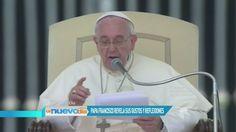 """El Papa Francisco reveló sus gustos y reflexiones en el diario """"La Voz"""" (VIDEO)"""