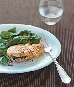 Mediterranean Chicken recipe from realsimple.com #myplate #protein #vegetables