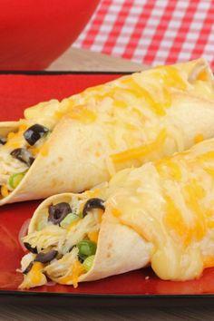 #Healthy #Recipe / Weight Watchers Cheesy Chicken Enchiladas