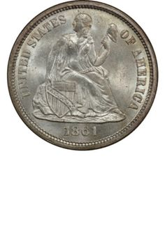 Seated Liberty Dime LegendYears Made: 1859 1873 1875 Marks: (P) Bullion Coins, Silver Bullion, Rare Coin Values, Stamp Values, Old Coins Worth Money, Sacagawea Dollar, Gold American Eagle, Sell Coins, Valuable Coins