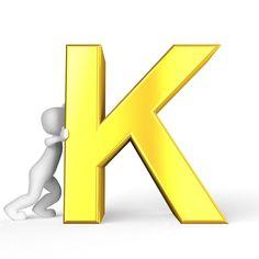K, Carta, Orden Alfabético, Por Orden Alfabético, Abc