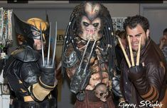 Wolverine Wednesday double throwback to Collectormania 2015 with @wolversteve9 Photo by Garry Speight #wolverinewednesday #wolverine #wolverinecosplay #wolverinecosplayer #logan #xmen #xmencosplay #xmencosplayer #marvel #marvelcomics #marvelcosplay #marvelcosplayer #marvelcosplayers #cosplay #cosplayer #cosplays #cosplaying #cosplayersofinstagram #cosplayers #comiccon #comicon #adamantium #boneclaws #predator #snikkt #predatorcosplay