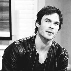 Ian Somerhalder // (don't judge, he's totally adorable ok...)