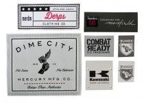 Dime City derps innies combat ready bungie kawasaki woven labels
