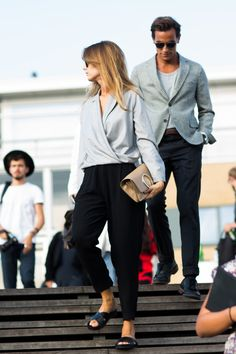 COPENHAGEN, STREETSTYLE Couple Dressing   Cool Chic Style Fashion